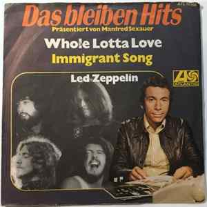 Led Zeppelin - Whole Lotta Love / Immigrant Song MP3 FLAC
